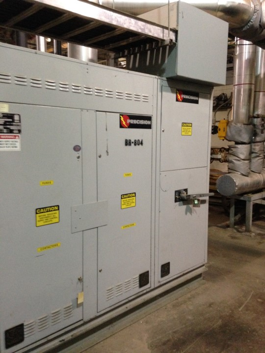 Precision Electric Boiler, 2,480kw